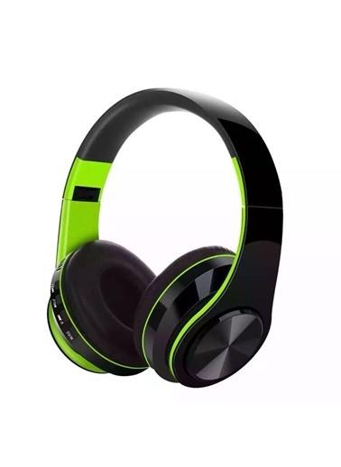Yui FG-69 Kırmızı Bluetooth Kulaküstü Kulaklık Yeşil